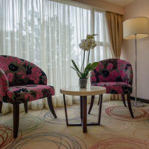 Pink Floor Decoration