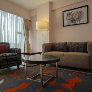 Exec _ Deluxe Suite Sitting Area