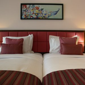 Double Bed Pink Floor (Superior)
